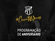 Confira a programação do Aniversário de 103 anos do Ceará