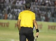 Andrey da Silva E Silva/PA apita o jogo entre Ceará x Boa Esporte