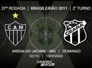 Para voltar a vencer fora de casa, Ceará enfrenta o Atlético/MG