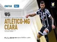 Na última rodada antes da pausa da Copa, Ceará encara o Atlético/MG no Independência