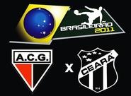 Para se manter 100% fora de casa, Ceará encara o Atlético/GO