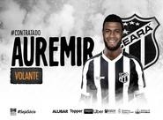 Reforço: Ceará acerta contratação do volante Auremir