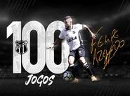 """Azevedo completa 100 jogos pelo Vozão: """"O Ceará jamais sairá da minha memória"""""""