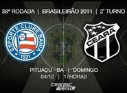 Ceará encara o Bahia, em duelo decisivo no Brasileirão 2011