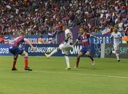 Na Fonte Nova, Ceará abre o placar, mas Bahia vira com gol no fim
