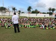 Presidente Robinson de Castro visita Cidade Vozão e reforça apoio às categorias de base