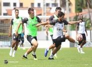 Nordestão: Em Porangabuçu, Ceará treina e finaliza preparação para duelo diante do Santa Cruz