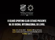 Ceará Sporting Club estará presente na 12ª Bienal Internacional do Livro (CE)