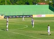 Com pênalti duvidoso, Ceará perde para Boavista e está fora da Copa do Brasil
