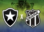 No estádio Maracanã, Ceará encara o Botafogo, pela Copa do BR