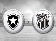 Em duelo de alvinegros, Ceará e Botafogo se enfrentam nesta noite