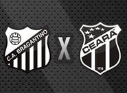 Buscando a primeira vitória fora de casa, Ceará encara o Bragantino