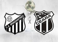 Para manter a ponta da Série B, Ceará encara o Bragantino