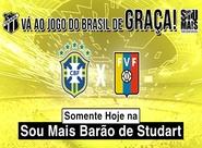 Torne-se um Torcedor Oficial e vá ao jogo de Brasil de graça!