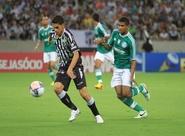 Ceará fica em vantagem duas vezes, mas cede empate ao Palmeiras