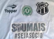 Ceará homenageará Chape na final da Copa do Nordeste Sub-20