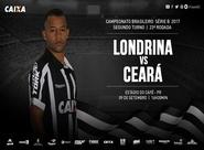 Brasileirão Série B: Londrina e Ceará se enfrentam hoje no Estádio do Café