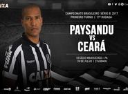 No Mangueirão, Ceará busca recuperação na Série B diante do Paysandu