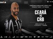 Série B: Na estreia do 2º turno, Ceará enfrenta o CRB, na Arena Castelão