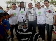 Geraldo e Boiadeiro participaram da Campanha contra a Dengue