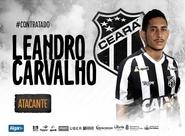 Destaque na campanha do acesso, atacante Leandro Carvalho retorna ao Ceará