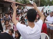 """Campanha """"Vovô vai à Escola"""" visitou o Instituto Casa do João"""