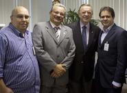 Presidente Evandro Leitão faz visita a Presidente da CBF