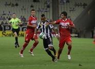 Na Arena Castelão, Vovô sai atrás, mas empata contra o CRB
