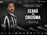 Em confronto direto da Série B, Ceará recebe o Criciúma na Arena Castelão