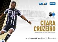 Na Arena Castelão, Ceará e Cruzeiro se enfrentam hoje pelo Brasileirão