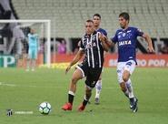 No Castelão, Ceará perde para o Cruzeiro com gol de Sassá