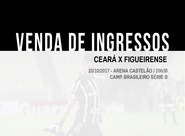 Ceará x Figueirense: Confira informações sobre a venda de ingressos