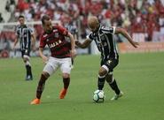 Ceará cria pouco e perde para o Flamengo na Arena Castelão