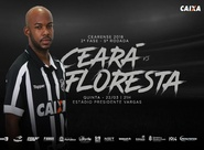 Ceará quer vencer o Floresta para encerrar 2ª fase na liderança do Estadual