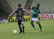 No Castelão, Ceará pressiona o Goiás, mas perde com gol de bola parada