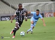 Ceará melhora taticamente, mas perde no detalhe para o Grêmio