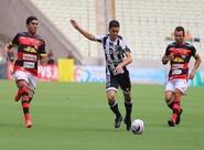 A um empate da final, Ceará enfrenta o Guarani (J), na Arena Castelão