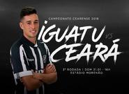 Com time modificado, Ceará enfrenta o Iguatu no Estádio Morenão