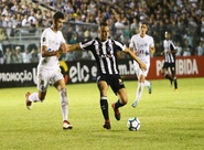 No PV, Ceará encurrala o Santos, abre o placar, mas cede empate no fim