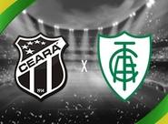 Pela 2ª fase da Copa do Brasil, Ceará e América/MG se enfrentam