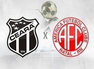 Precisando voltar a vencer, Ceará recebe o América/RN no Castelão