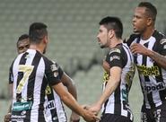 No Castelão, Ceará domina o jogo e vence o América/RN por 2 x 0