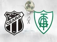Buscando a reabilitação na Série B, Ceará recebe o América/MG