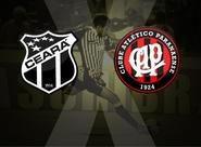 Continua a venda de ingressos para Ceará x Atlético/PR