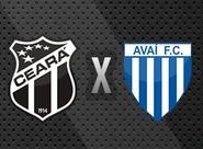 Na luta pelo G-4, Ceará recebe o Avaí, na Arena Castelão