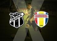 Ceará x Grêmio Barueri:  Venda de ingressos nas Lojas Oficiais e no PV