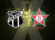 Ceará x Boa Esporte:  Venda de ingressos nas Lojas Oficiais e no PV