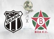 Ceará recebe o Boa Esporte e busca manter vantagem na liderança