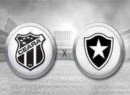 Em casa, Ceará recebe o Botafogo e busca recuperação