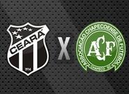 Lutando pela recuperação, Ceará recebe a Chapecoense, no Castelão